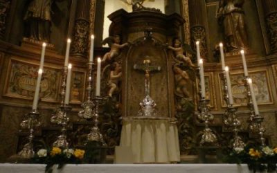 Corona-vieringen van de Sint Franciscus Xaveriuskerk