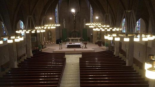 Vieringen zonder kerkgangers