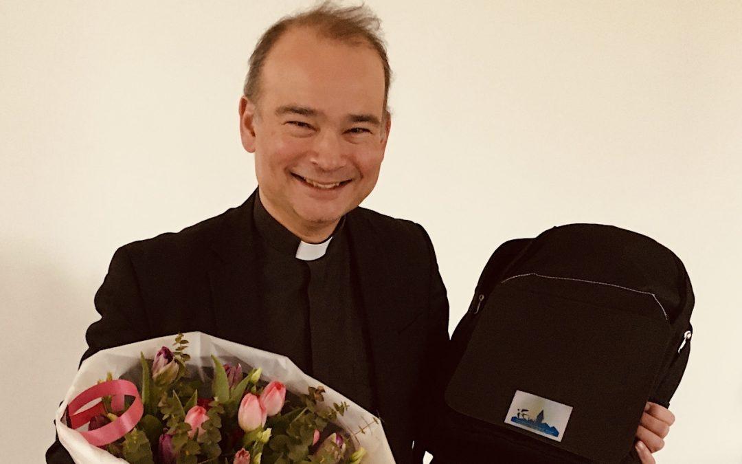 Warm afscheid van pastor Roderick
