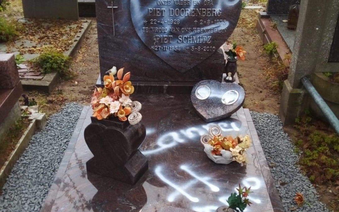 Grafschennis op kerkhof Utrechtseweg