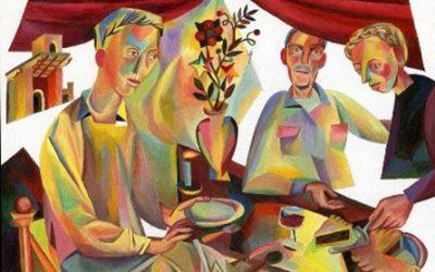 Samen eten en drinken in de bijbel – maaltijden als momenten van ontmoeting. Maandag 14 juni het eerste verhaal!