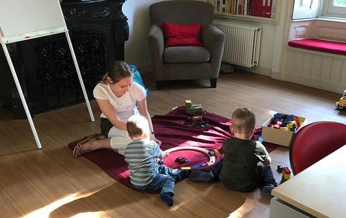 Kinderopvang tijdens de Eucharistie