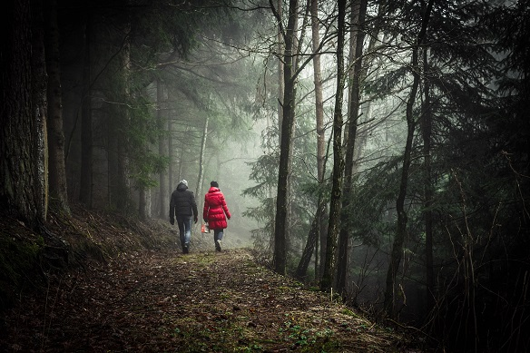 Eerste wandeling Inham/Martinus