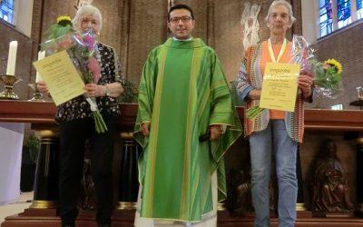 25 jaar koorlid zijn bij het parochiekoor Hoogland (UPDATE)